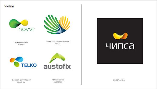 Тренды логотипы 2012 — студия «Чипса»