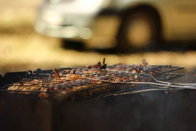 Студия «Чипса» на шашлыках